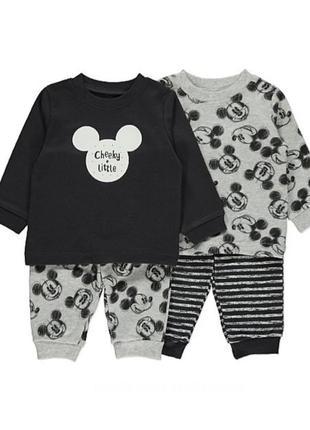 Комплект детских пижамок на мальчика george 2шт.