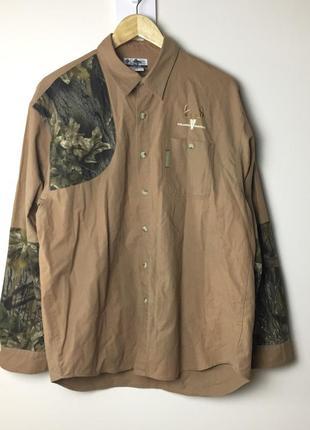 Милитари рубашка