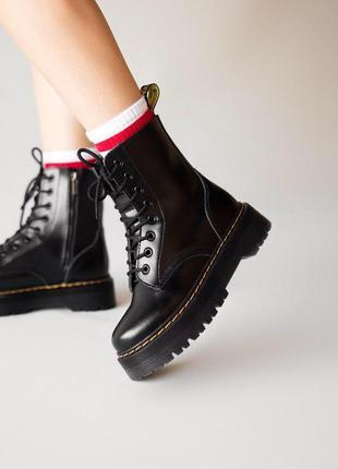 Стильные ботинки 🔥 dr. martens jadon black 🔥