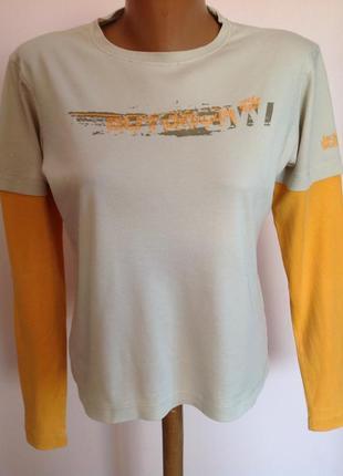 Jack wojfskin- l- котоновая спортивная футболка