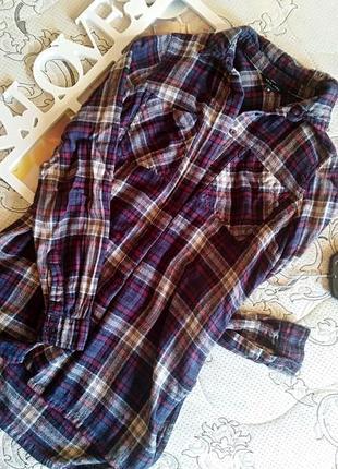 Рубашка в клетку new look