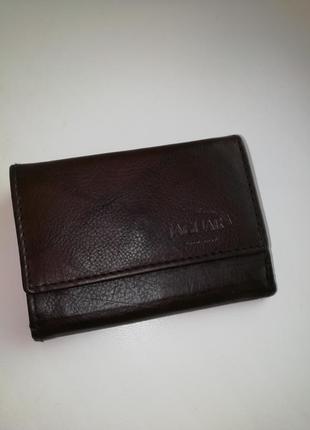 Шкіряний фірмовий англійський гаманець jaguar. оригінал!!!