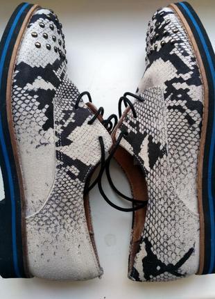 Замшевые туфли kurt geiger