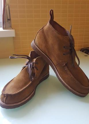 Стильные мужские ботинки ralph lauren оригинал
