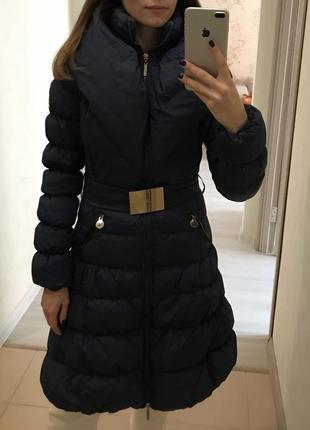 Куртка пуховик elisabetta franchi celyn b