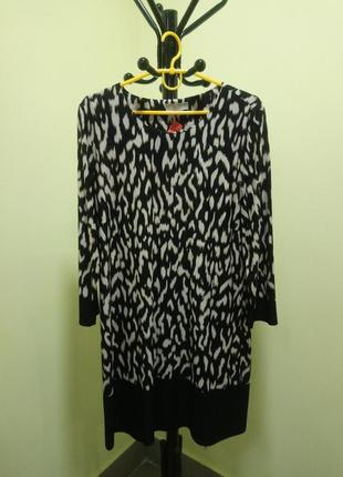 Леопардовое платье planet
