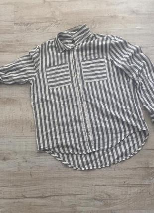 Полосатая рубашка