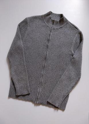 Брендовая кофта/пуловер/свитер/гольф/джемпер с воротником стойкой