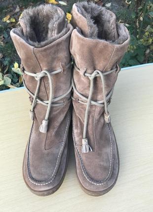 Зимние ботинки, сапоги camper замша / испания