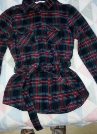 Фланелевая рубашка размер 10 derek heart