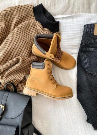 Ботинки коричневые демисезон