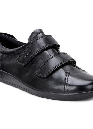 Туфли мокасины полуботинки ecco soft р.35  оригинал