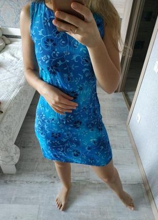 Красивое платье в принт вискоза