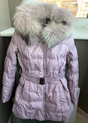 Зимняя курточка на гусином пуху