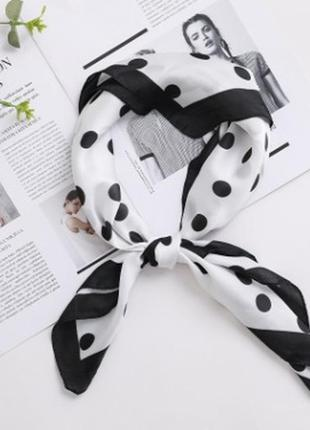 7-27 хустинка шарфик платок для волос, на шею, на руку, на сумку