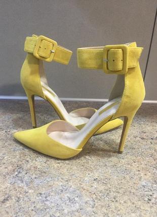 Шикарные туфли натуральный замш❤️❤️512