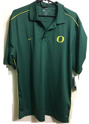 Мужское поло тениска мужская футболка nike dri fit polo oregon ducks  m-l недорого  скидка
