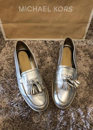 Стильные лоферы туфли michael kors оригинал
