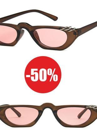 4-34 стильные солнцезащитные очки