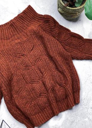 Крутой объёмный свитер 22р.