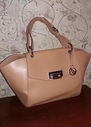Італійська фірмова шкіряна сумка toska blu!!! оригінал !!!!