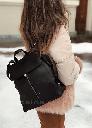 6 цветов! сумка рюкзак трансформер черный рюкзачок городской для школы