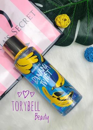 Victoria's secret парфюмированный мист спрей для тела banana twist