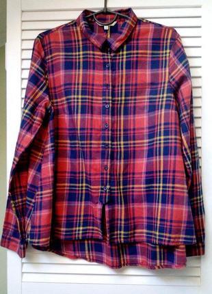Фланелевая рубашка для будущей мамы