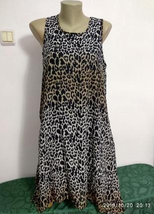 Шифоновое легкое платье