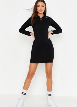 Boohoо, хит продаж, платье футляр с молнией uk 8 .на наш 42-44.