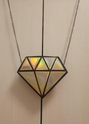 Сумка в формі діаманта 351н2 фото