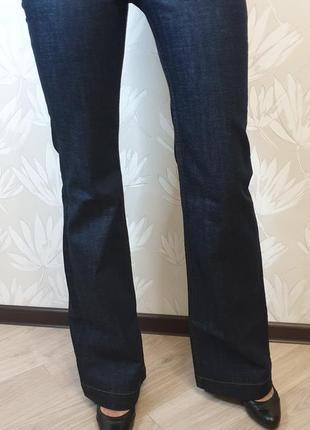 Джинсы клеш motor jeans w26 l36