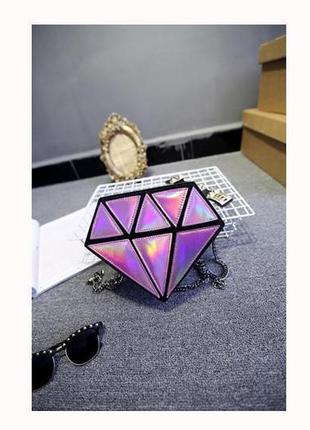 Сумка в формі діаманта 351н
