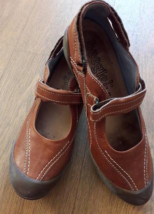 Туфлі шкіряні 39р.