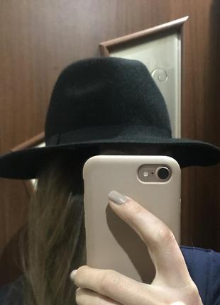 Шляпка 100%шерсти