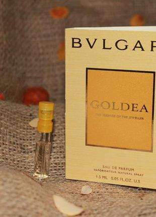 Bvlgari goldea - пробник оригинал! торг уместен