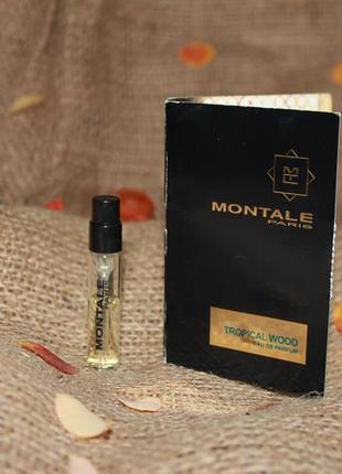 Montale tropical wood парфюмированная вода ★★★★