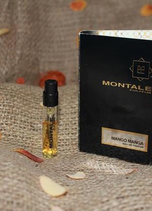 Montale mango manga парфюмированная вода