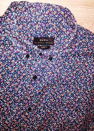 Рубашка с коротким рукавом zara