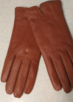 Кожаные перчатки рукавиці с  мягкой кожи англия