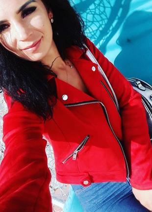 Пиджак под замш(рамонеска))