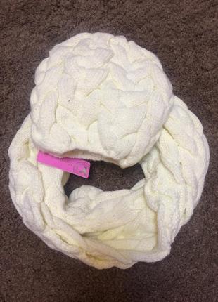 Комплект шарф + шапка