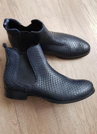 Ботинки челси, ботинки кожаные