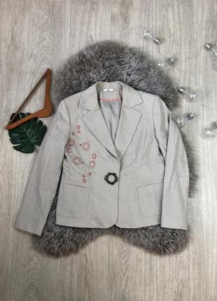 Піджак з вишивкой| жакет
