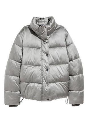 Куртка пуффер h&m puffer размер s-m