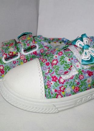 Кеды, мокасины, для девочки,  кроссовки, текстильные, летние
