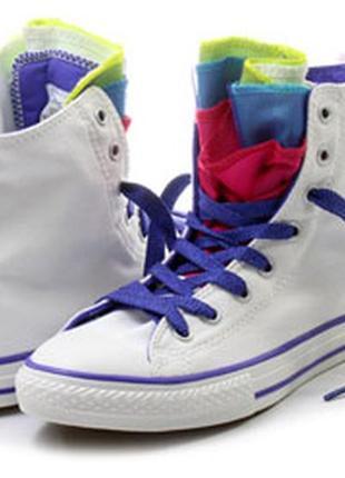 Converse chuck taylor all star высокие кеды кроссовки