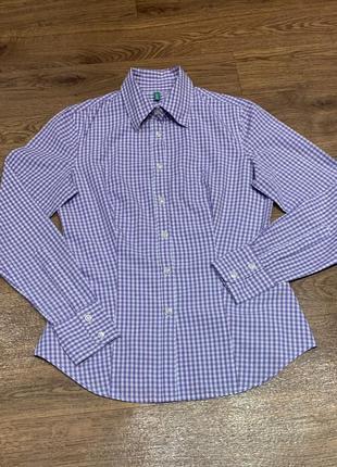 Рубашка блуза  хлопок united colors of benetton