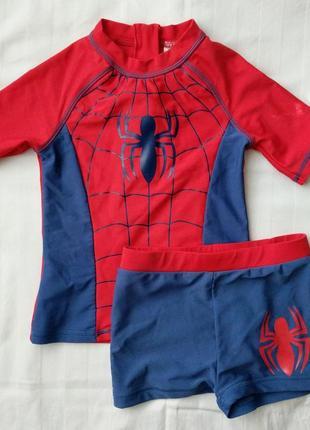 Купальный костюм spider-man, marvel