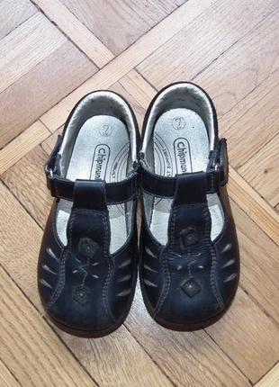 Темно-синие туфли chipmunks,р.7